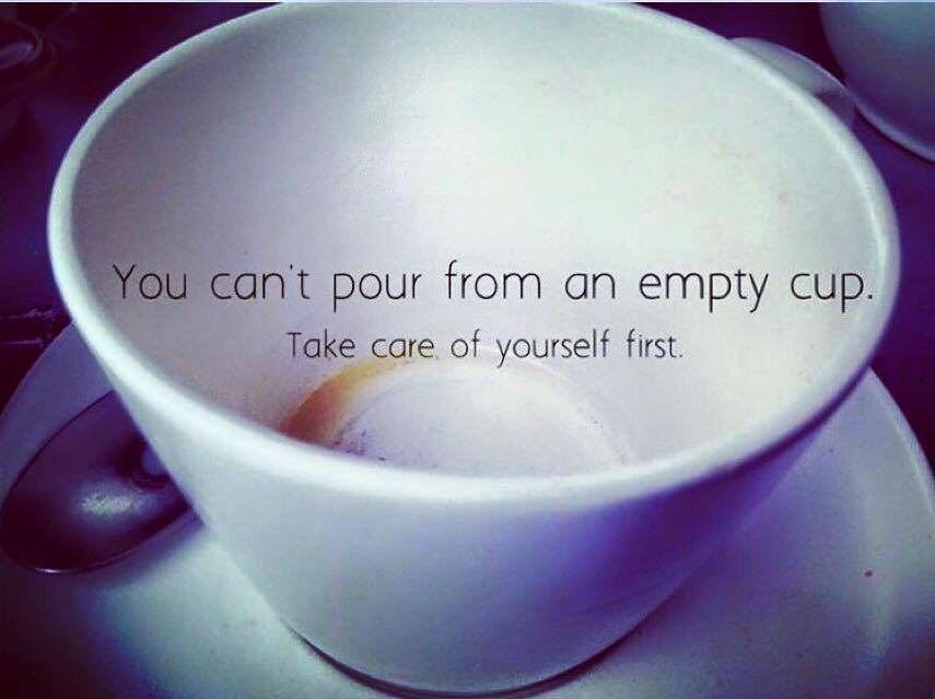 Better Beauty Vermont You can't pour from an empty cup, take care of yourself first