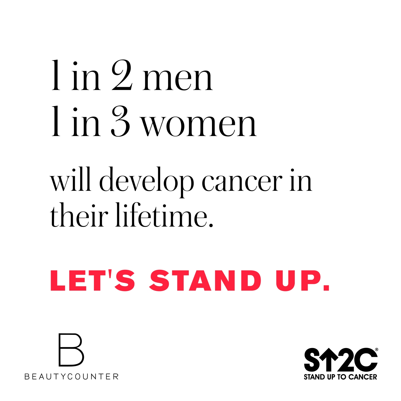 Better Beauty Vermont 1 in 2 men 1 in 3 women will develop cancer