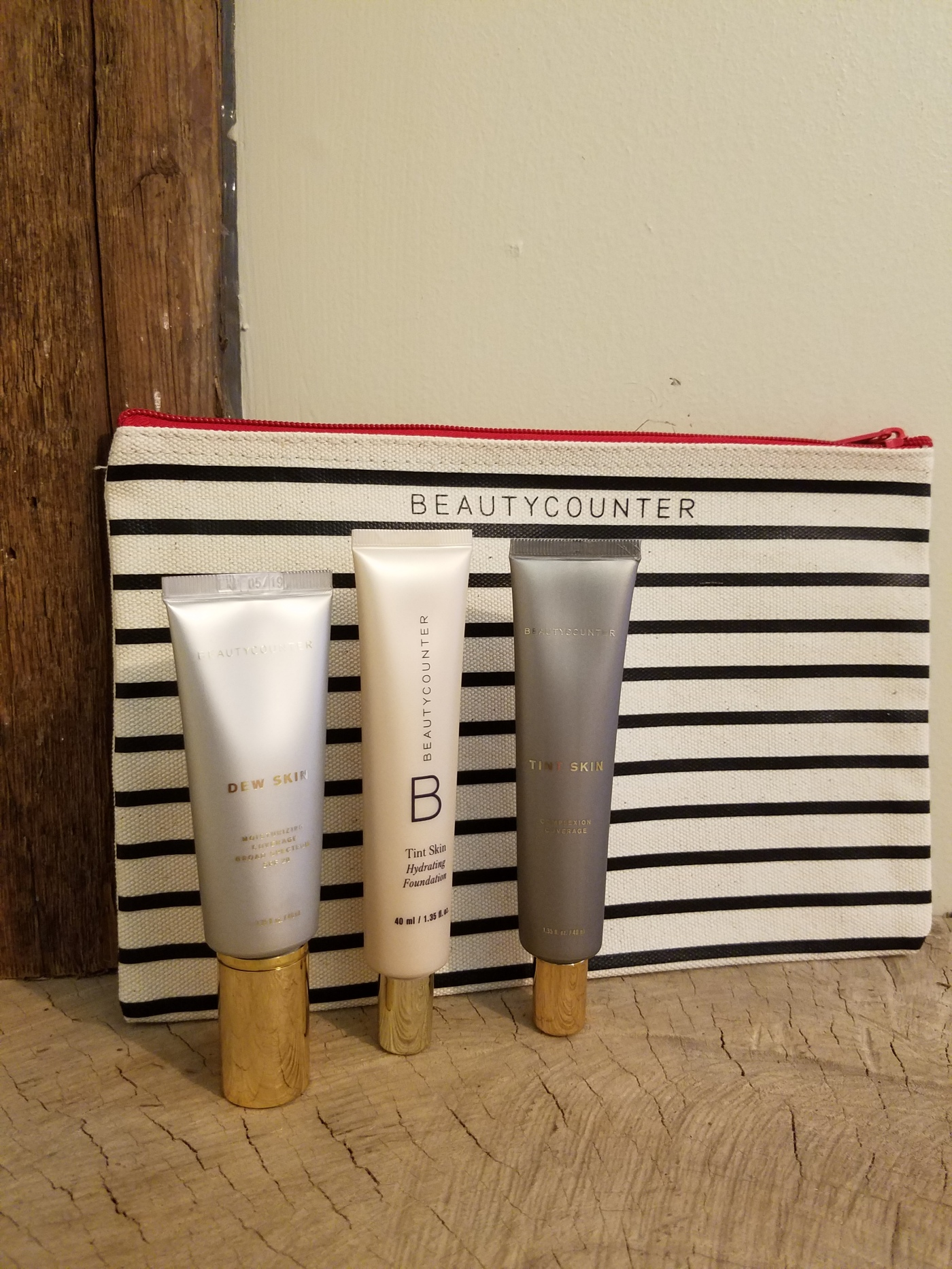 Better Beauty Vermont Beautycounter tint skin and dew skin