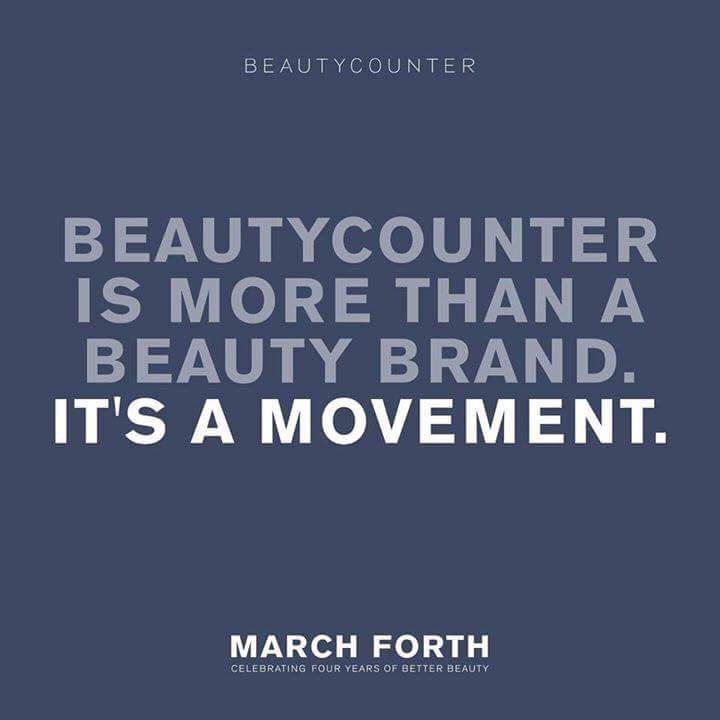 Better Beauty Vermont Beautycounter is more than a beauty brand, it's a movement