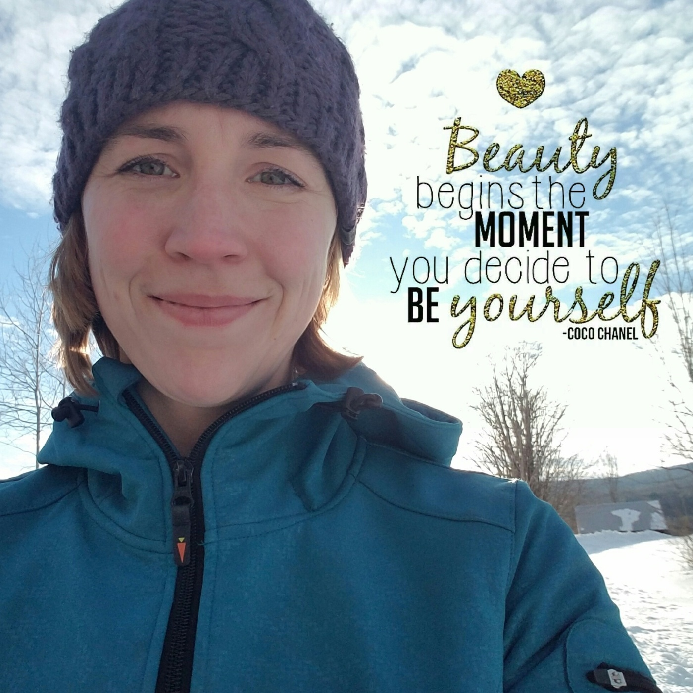 Better Beauty Vermont Beauty Begins the moment you decide to be yourself chanel