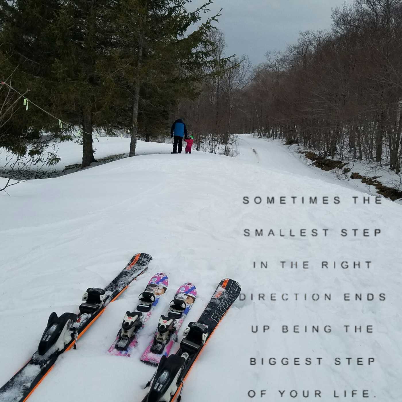 Better Beauty Vermont Skis by pond sometimes the smallest step in the right direction ends up being the biggest step of your life