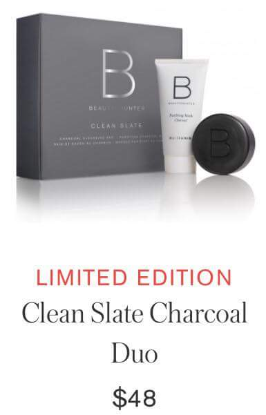 Better Beauty Vermont Beautycounter Clean Slate Charcoal Duo- $48