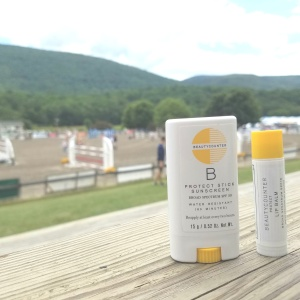 Better Beauty Vermont Sunscreen and Horses
