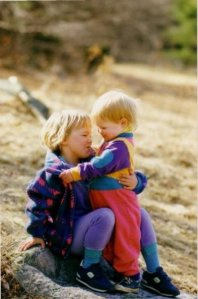 Better Beauty Vermont - The magic of having a sister (and some amazing retro 90s fleece)...