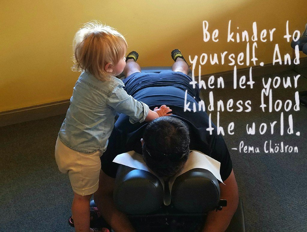 Better Beauty Vermont- Be Kinder to yourself. And then let you kindness flood the world. Pema Chodron