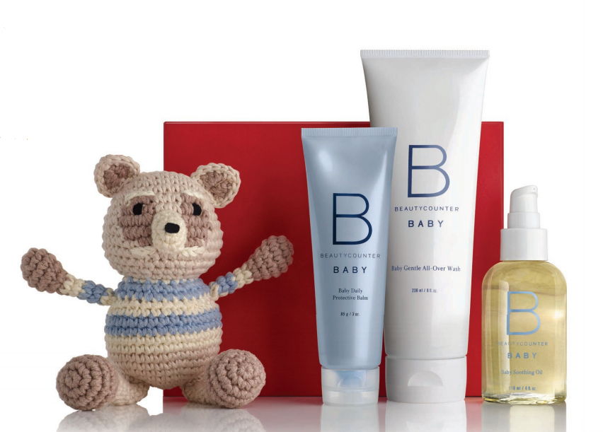 Better Beauty Vermont- Beautycounter Baby Bundle with Finn + Emma Buddy