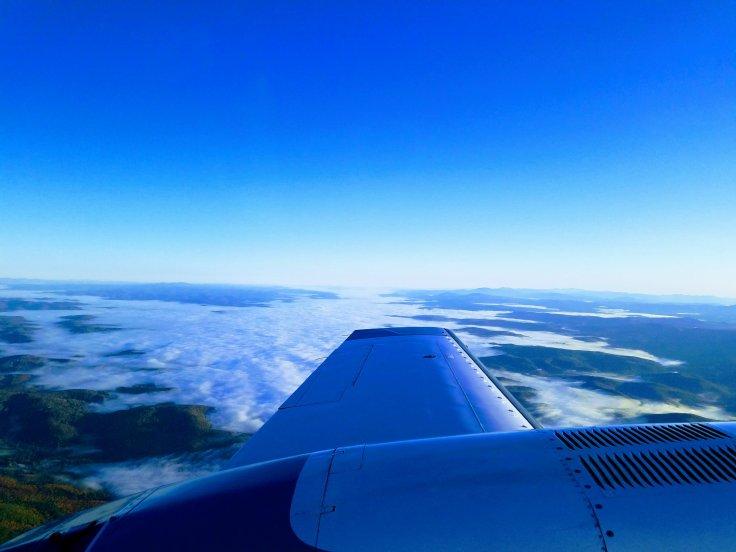 Better Beauty Vermont Cape Air flight