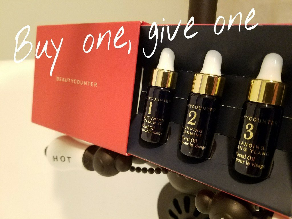 Better Beauty Vermont Beautycounter Mini Oils- Buy one give one for Cancer