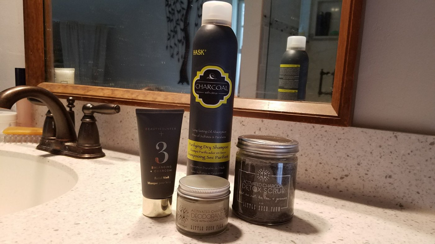 Better Beauty Vermont Charcoal Must Haves